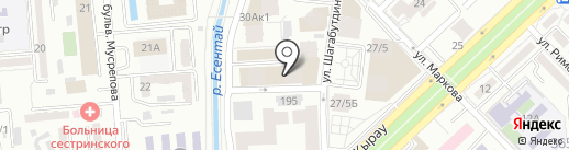 MakeUp Room на карте Алматы