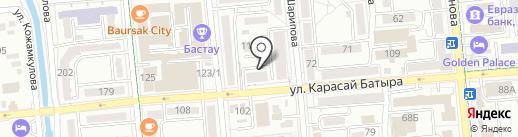 Звенящие кедры России на карте Алматы