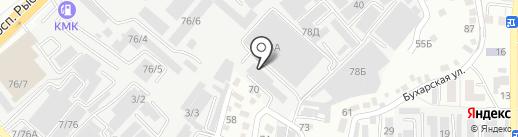 КАЗДИНФАРМА, ТОО на карте Алматы