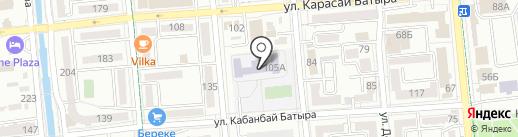 Школа-гимназия №8 на карте Алматы
