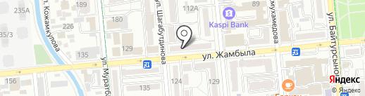 Марлин на карте Алматы