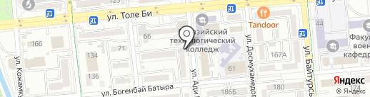 Аппетитница на карте Алматы