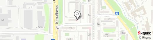 Нотариус Абишева Ш.Д. на карте Алматы