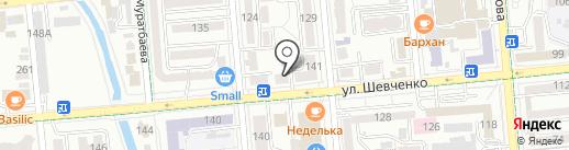 SV studio на карте Алматы