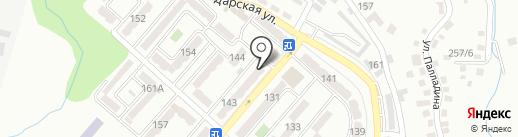 Лазурь на карте Алматы