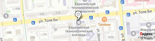 Алматинский индустриальный колледж на карте Алматы