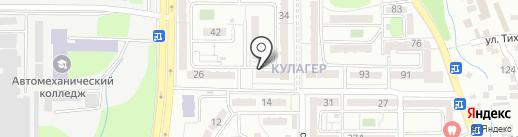Домовёнок Кузя на карте Алматы