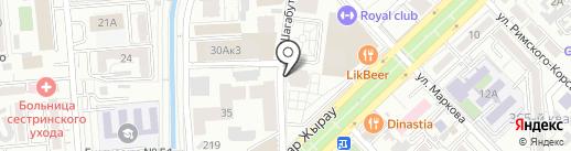 Агентство Безопасности IT`S, ТОО на карте Алматы