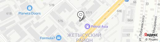 StroyTehService на карте Алматы