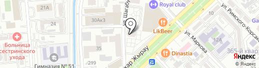 Tambour на карте Алматы