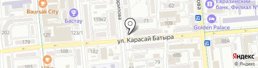 BarMan на карте Алматы