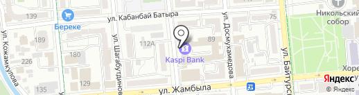 Clean Kitchen, ТОО на карте Алматы
