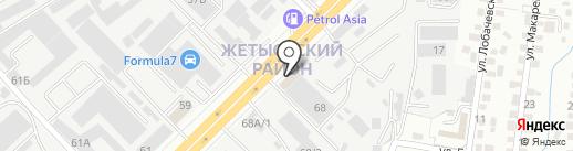 ГарантПласт на карте Алматы