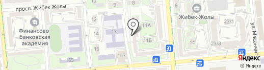 Нотариус Саулимбаева Г.Д. на карте Алматы
