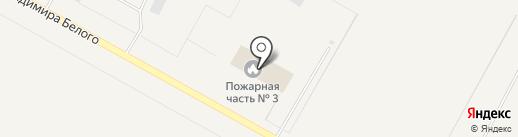 Пожарная часть №24 на карте Излучинска