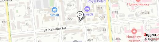 Арман Сервис на карте Алматы
