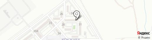 Дау-Хат на карте Алматы