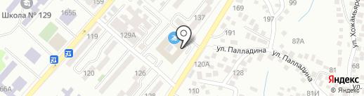 Алматинский колледж управления и рынка на карте Алматы