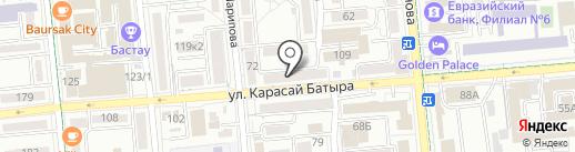 4 Сезона на карте Алматы