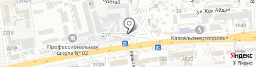 Golden Roof, ТОО на карте Алматы