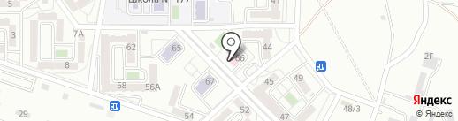 Городская поликлиника №21 на карте Алматы