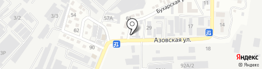 Компания Гиппократ, ТОО на карте Алматы