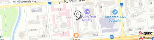 Pegas Company, ТОО на карте Алматы