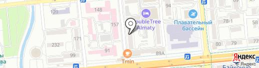 Sanay на карте Алматы