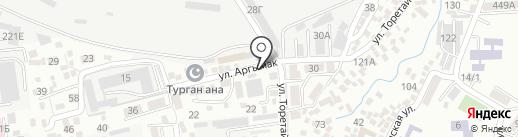 ПРОФ-ЗАЩИТА на карте Алматы