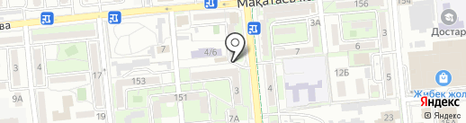 А-Сom на карте Алматы