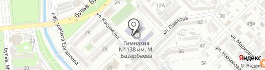 Гимназия №138 им. М. Базарбаева на карте Алматы