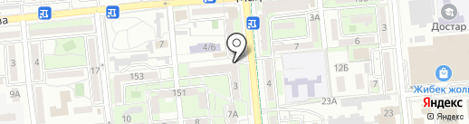 Массажный кабинет Евгения Хан на карте Алматы