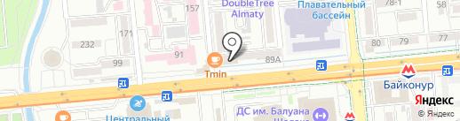 Alla Scala на карте Алматы