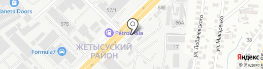 Мотопарк на карте Алматы