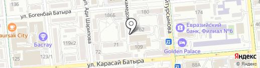 Oriona-L на карте Алматы