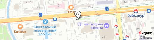 Модно быть беременной на карте Алматы