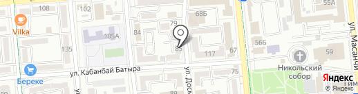 Абырой Аудит на карте Алматы