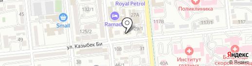 Жеты Казына на карте Алматы