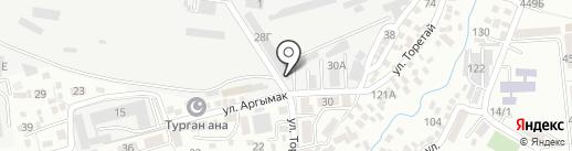 San.Bi company, ТОО на карте Алматы