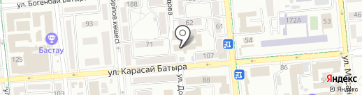 Стол находок ДВД г. Алматы на карте Алматы