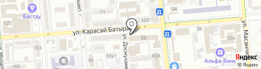 Глав Свет на карте Алматы