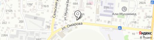 Тарим на карте Алматы