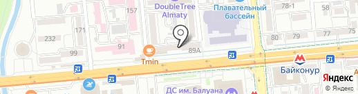 Falafel Forever на карте Алматы