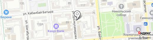 Трапеза-Казахстан на карте Алматы