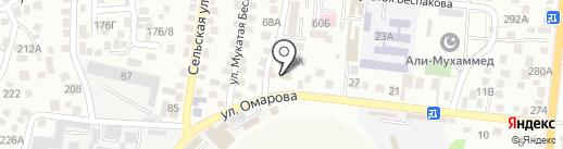 Чибо Сано на карте Алматы