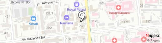 ТрансОйл на карте Алматы