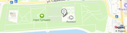 Футбольная школа молодежи на карте Алматы