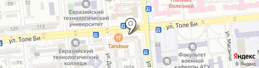 Salem 24 market на карте Алматы