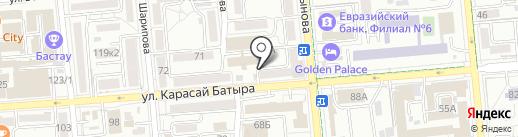 RANGE ROVER на карте Алматы