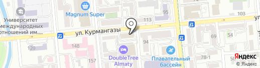 KT Cloud Lab на карте Алматы